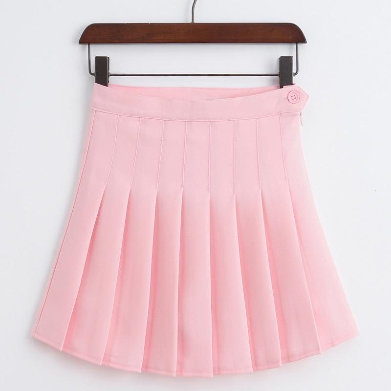 Sweet Lolita High Waist Pleated Skirt