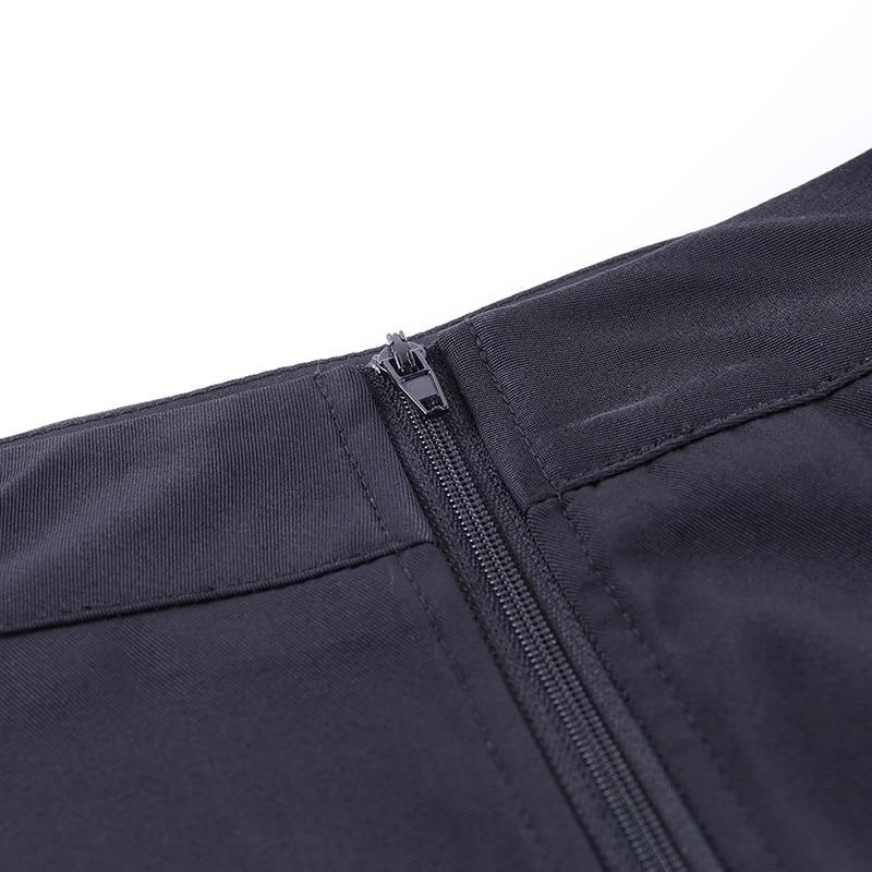 Gothic Black Combo Skirt