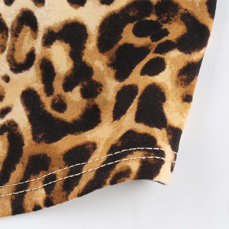 Leopard Pattern Tank Tops