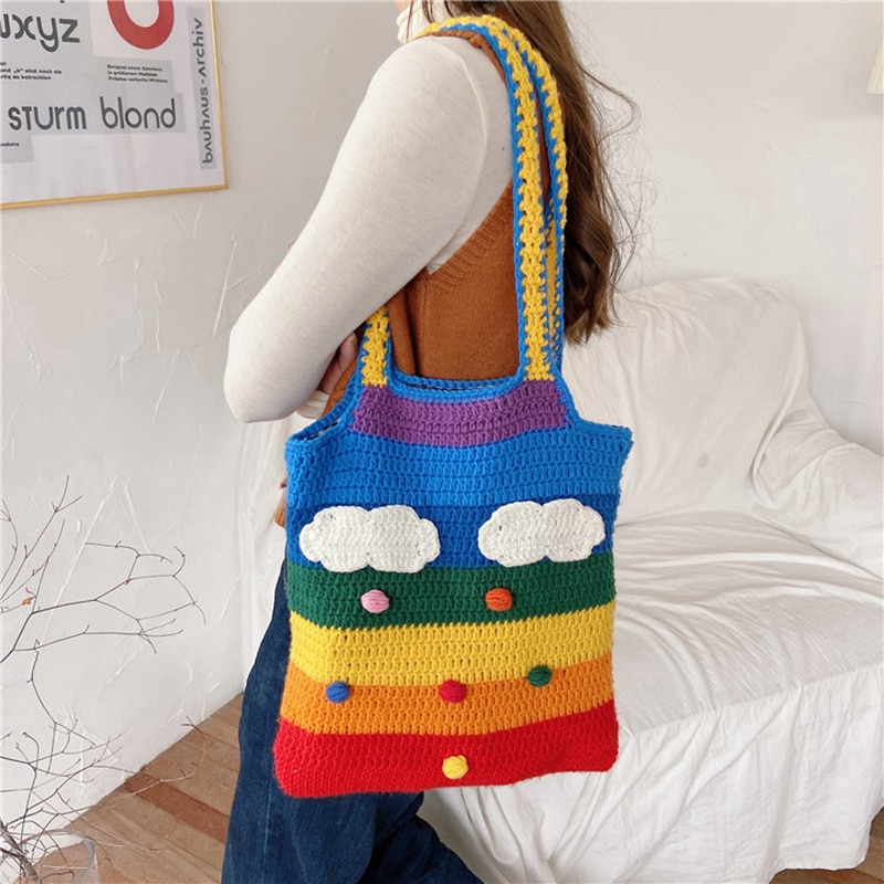 Rainbow Shoulder Bag