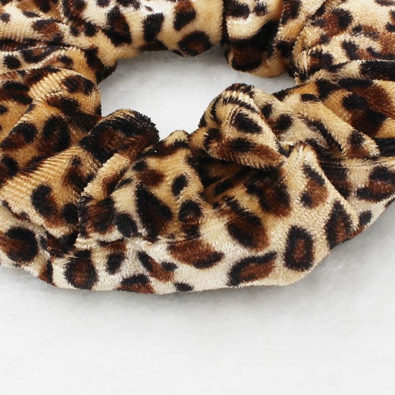 Leopard & Cow print Scrunchies