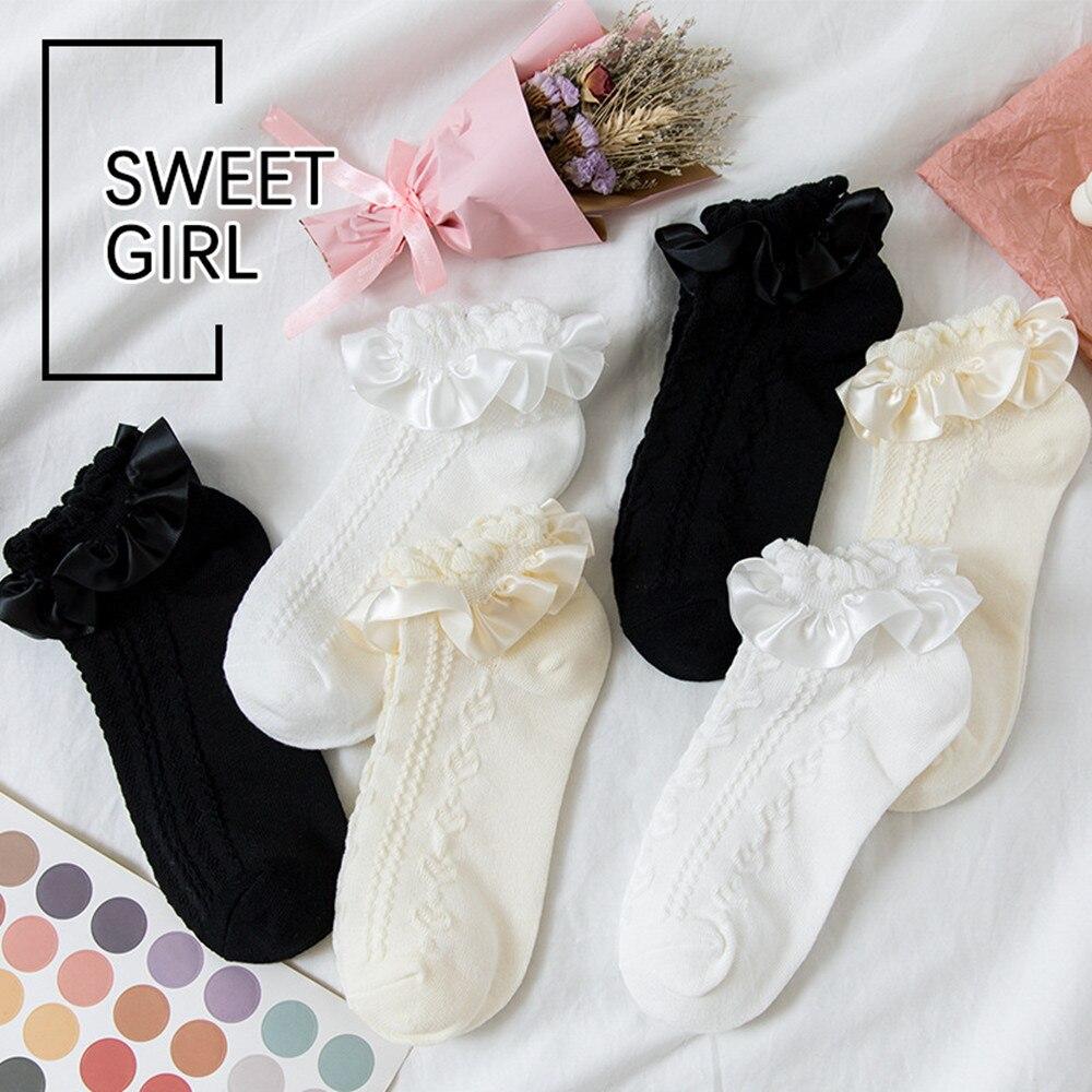 Lolita Ruffle Socks