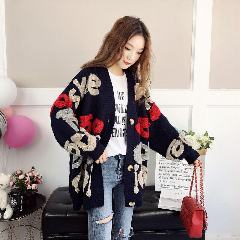 Korean Style  Loose Cardigans