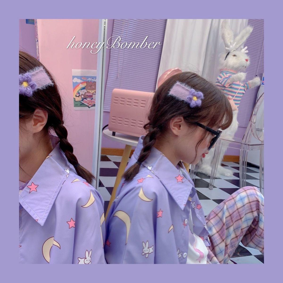 Purple Kawaii Sailor Moon Shirt