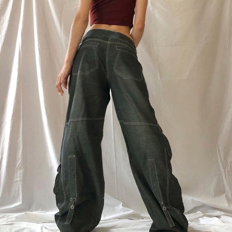 Print Wide-Fit Jeans